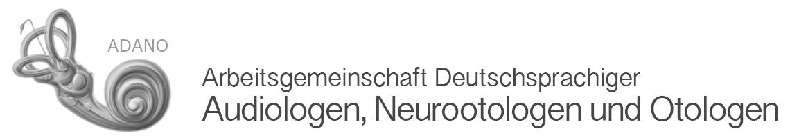 Arbeitsgemeinschaft Deutschsprachiger Audiologen, Neurootologen und Otologen (ADANO)